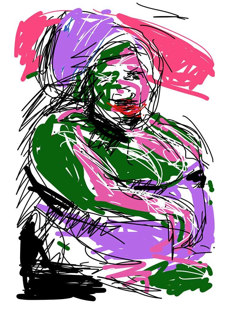 mongi-higggs-big-mama-on.the-beach-edition-70mal100cm-giclee-print-artist-kuenstler-konsum163-modern-art-gallery